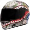 Bell Vortex Unisex-Adult Full Face Street Helmet (Flying Tiger, Large) (D.O.T.-Certified)