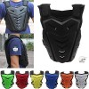 POSSBAY Motorcycle Body Armor Gear Back Chest Protectors Motocross Dirt Bike Unisex M For Riding Cycling Skating Skiing Scooter