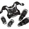 Fox Titan Youth Combo Pack with Roost Protector, Knee, Elbow Guards for Moto, BMX, MTB