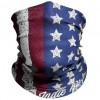 """Red White & Blue """"Old Glory"""" American Flag Outdoor Face Mask By IndieRidge – Microfiber Polyester Multifunctional Seamless Headwear"""