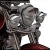 Show Chrome Accessories (1-229) 4-1/2″ Spot Light Visor