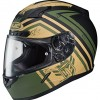 HJC CL-17 Mech Hunter Full-Face Motorcycle Helmet (MC-4F, X-Large)